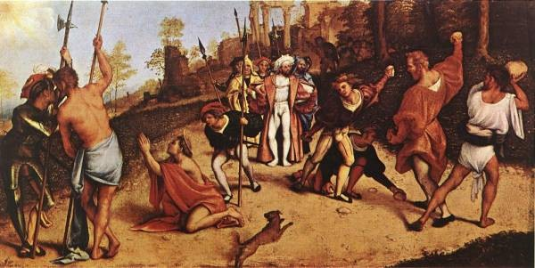 The Martyrdom of St Stephen 1516